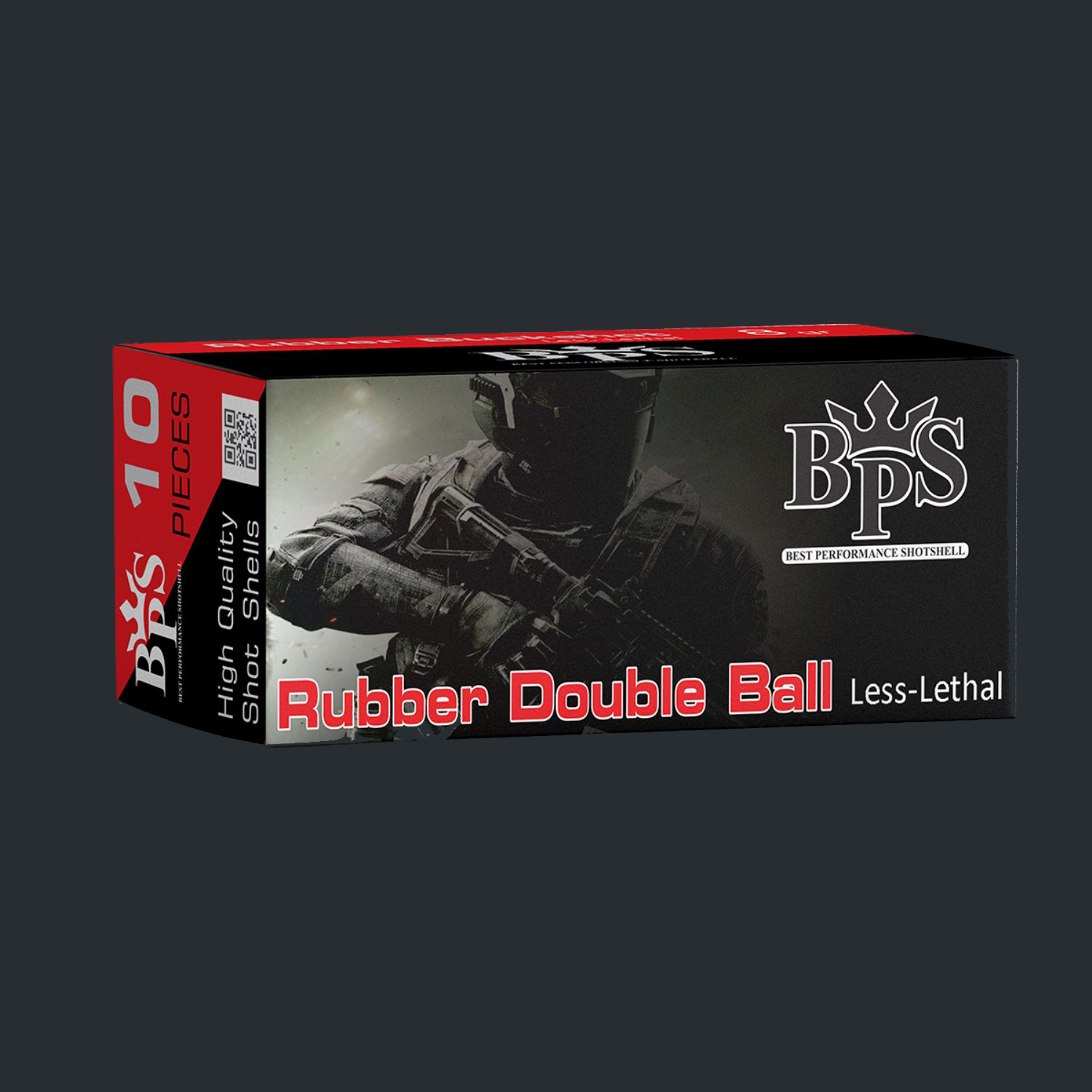 12 cal Rubber Double Ball